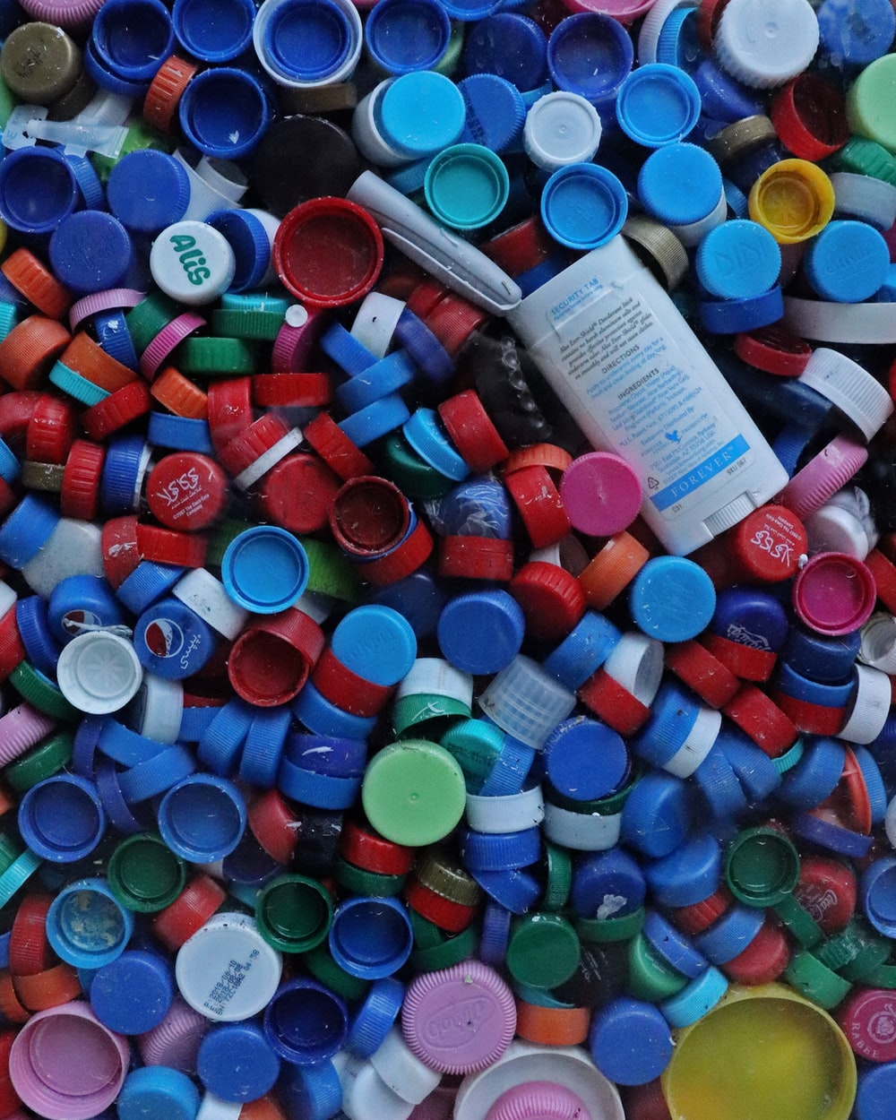 assorted-color plastic cups