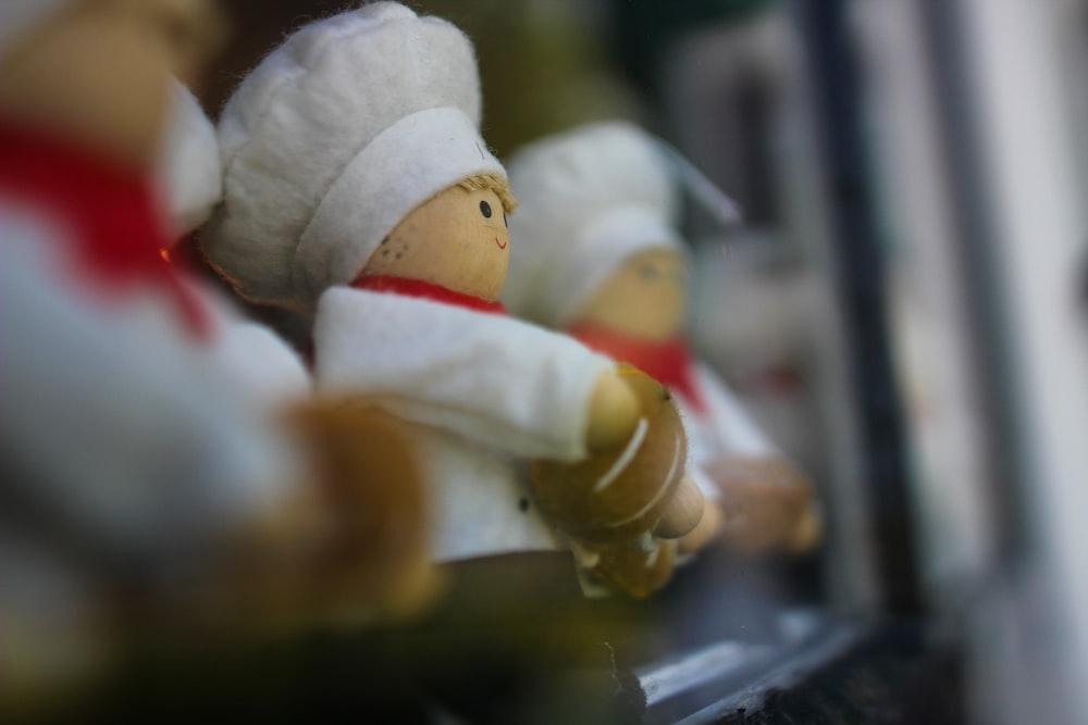 Chef plush toys
