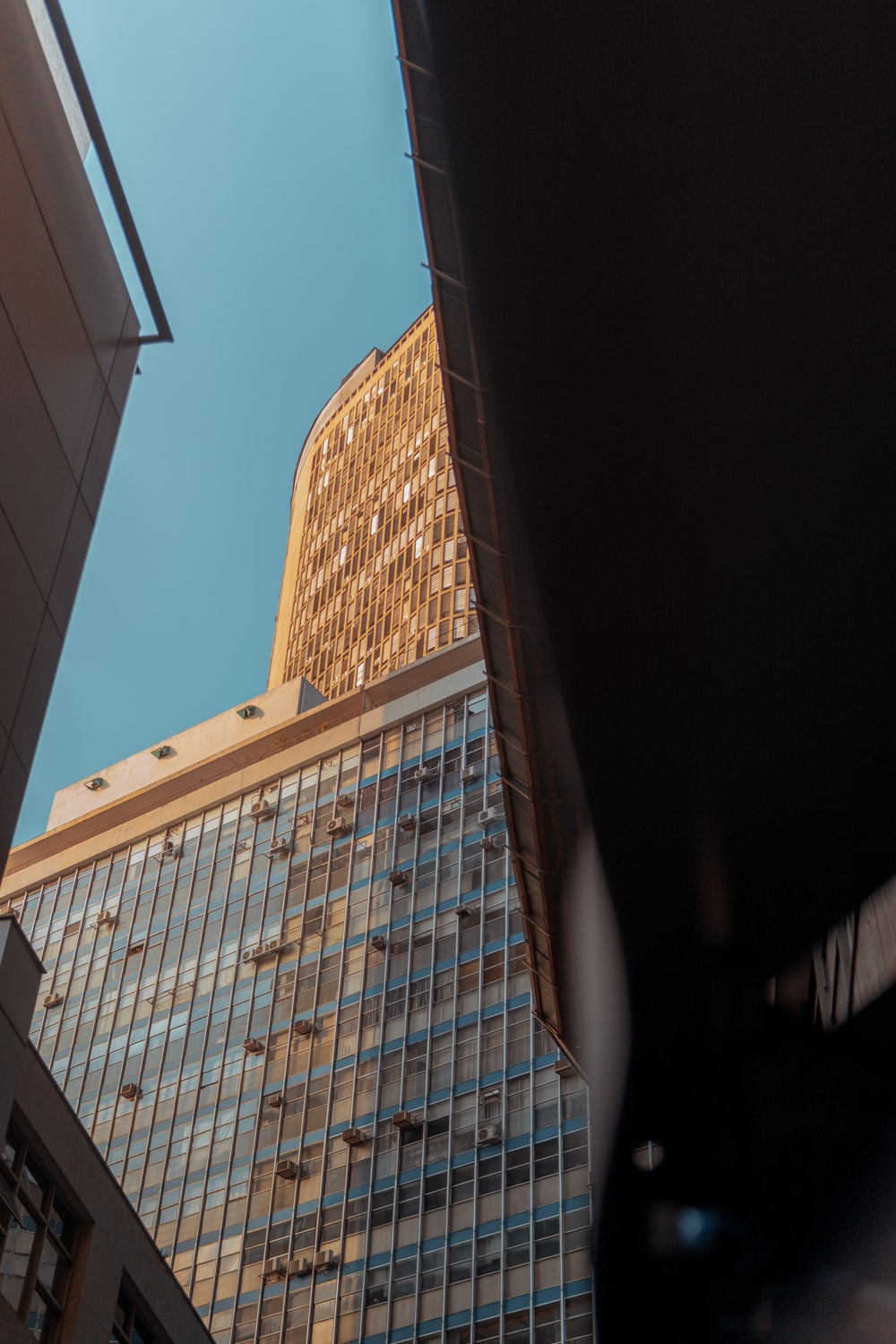 low-angle photography of buildings during daytime