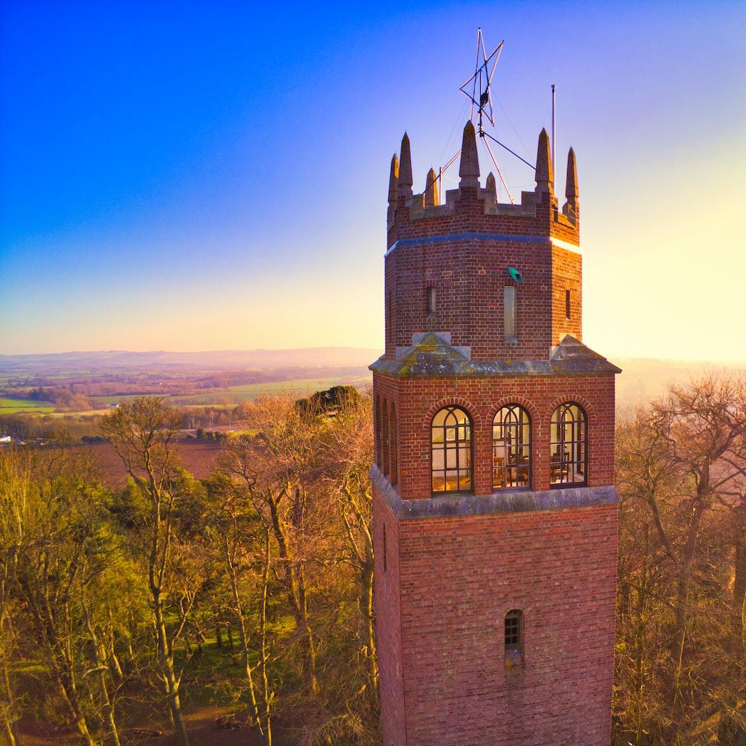 Faringdon tower Folly close up