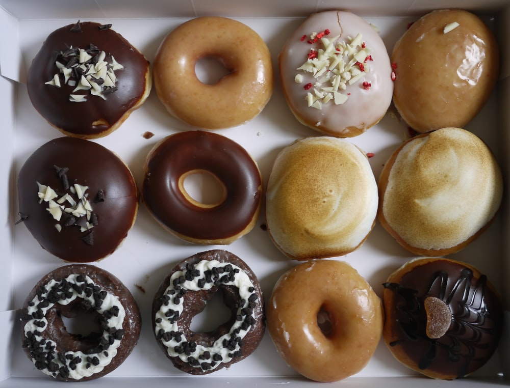 donuts on box