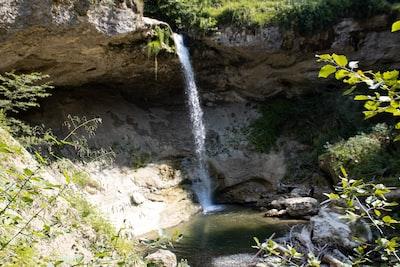 Waterfall at Scheidegg