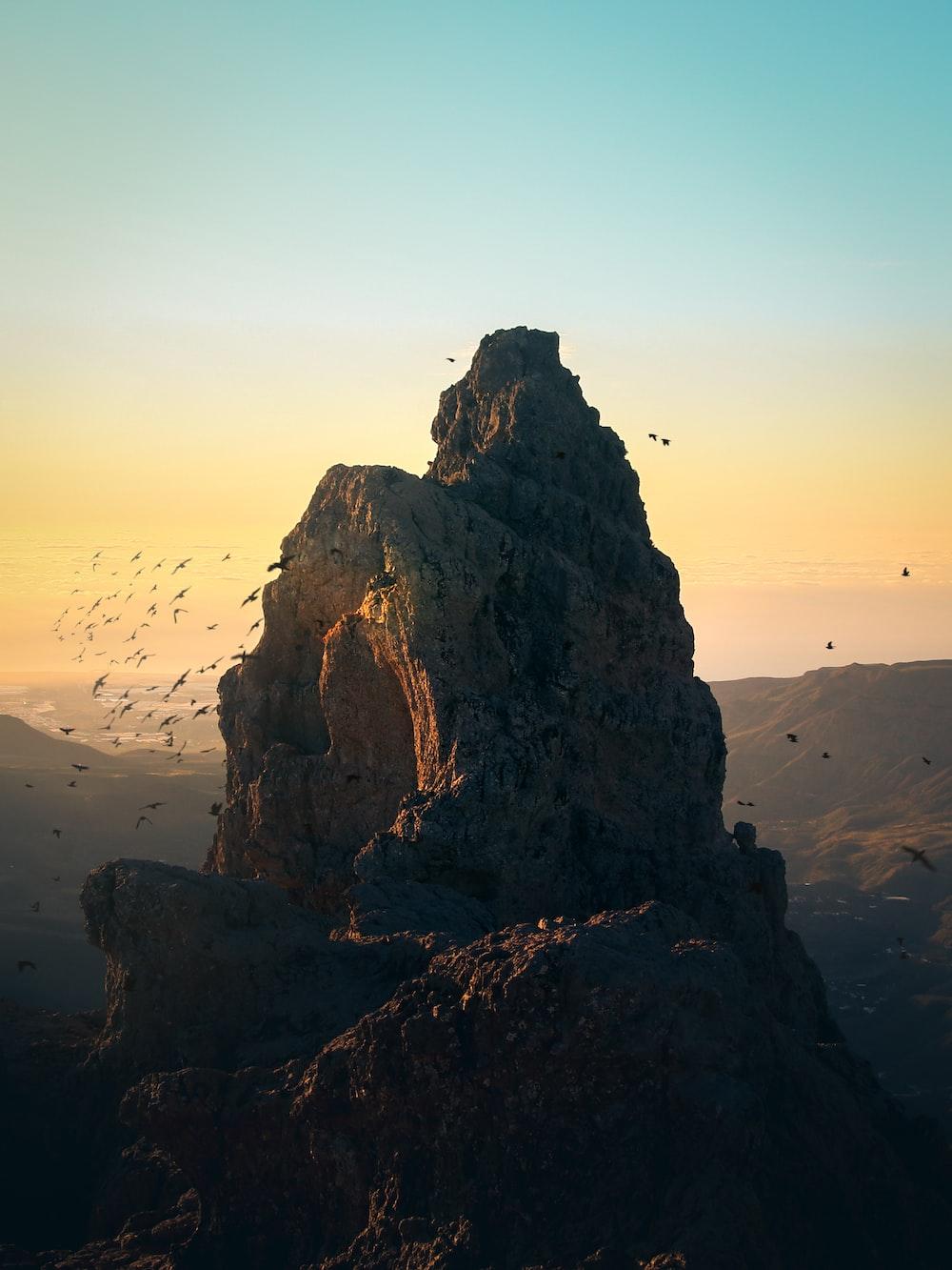 brown mountain
