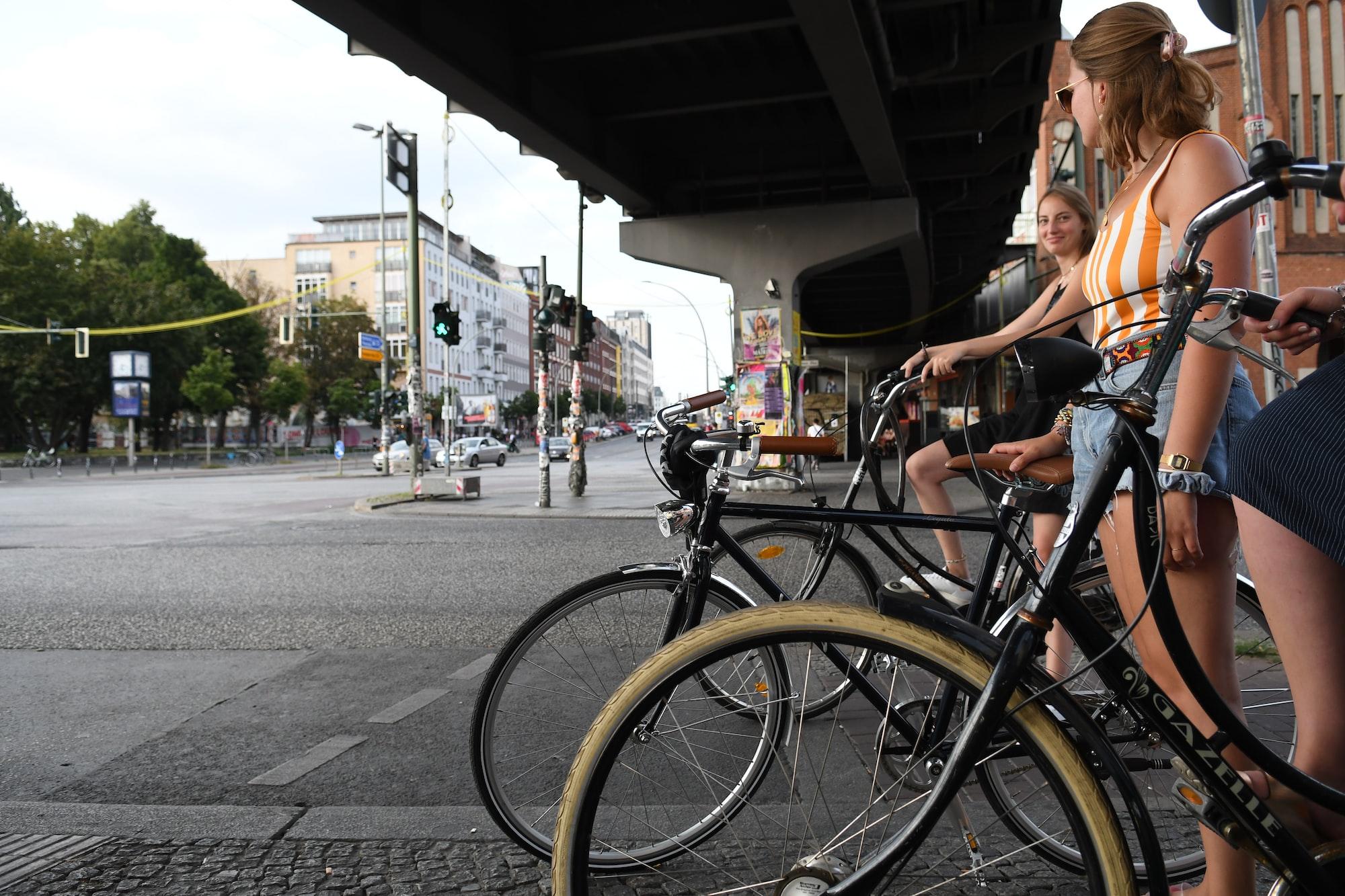 Cycling around Kreutzberg (Berlin)