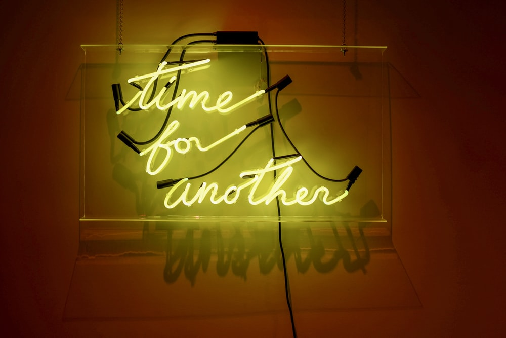 Time For Another Neon Light Wall Decor Photo Free Neon Image On Unsplash