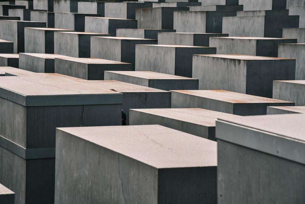 brown concrete boards