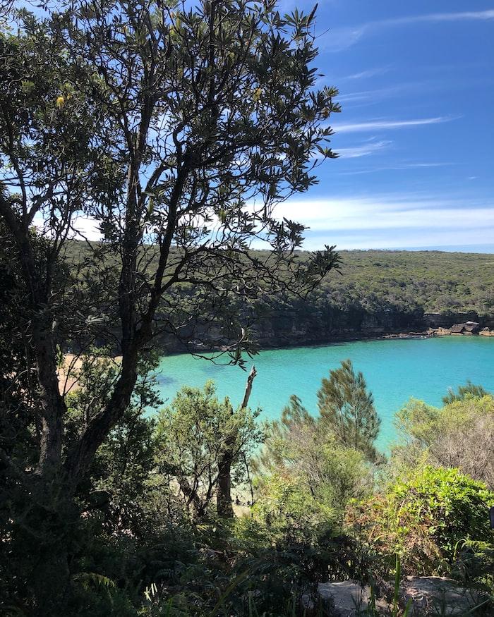 Lake inside the Royal national park
