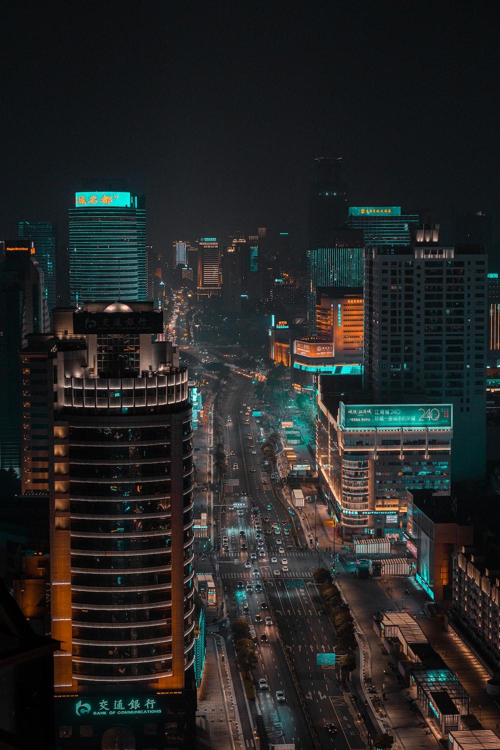 birds eye photography of high rise building