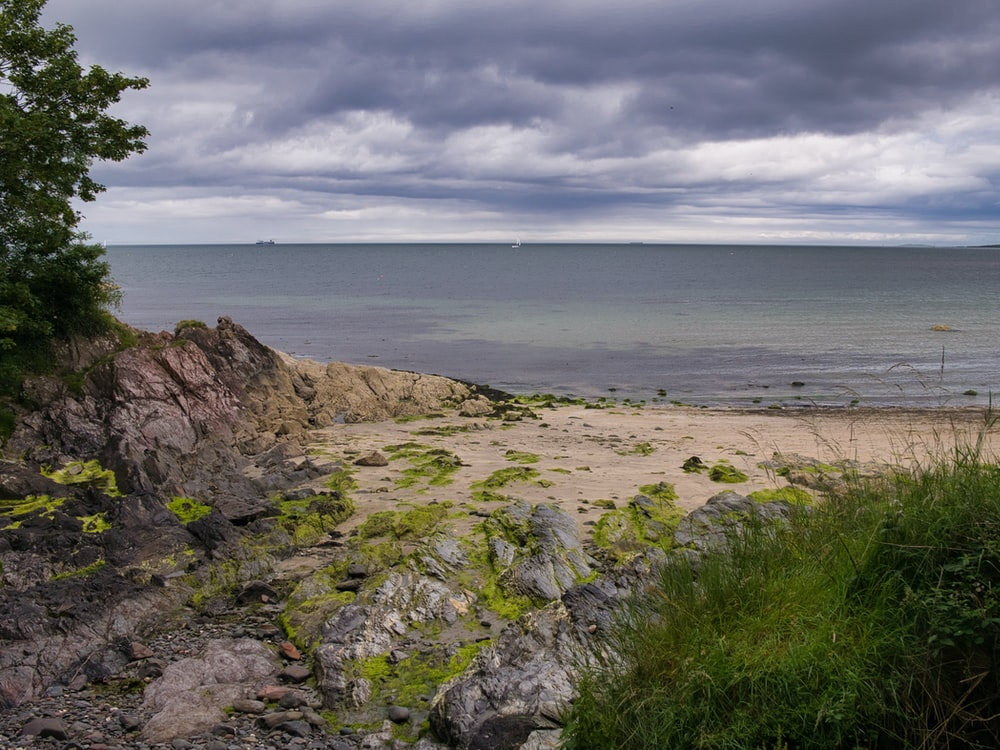 landscape photography of seacoast