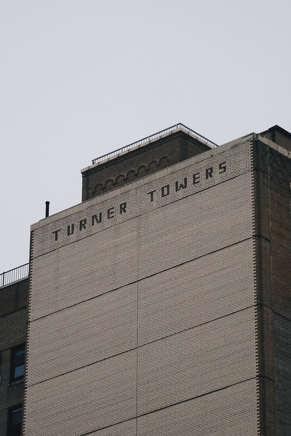 Turner Tower low-angle photography