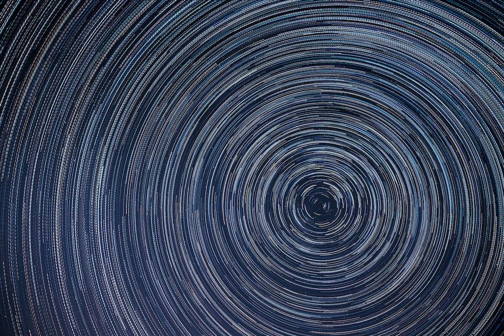 blue spiral wallpaper