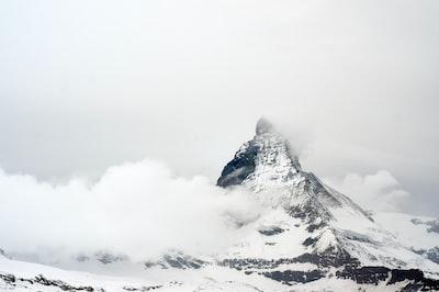 Matterhorn the weather change in minutes