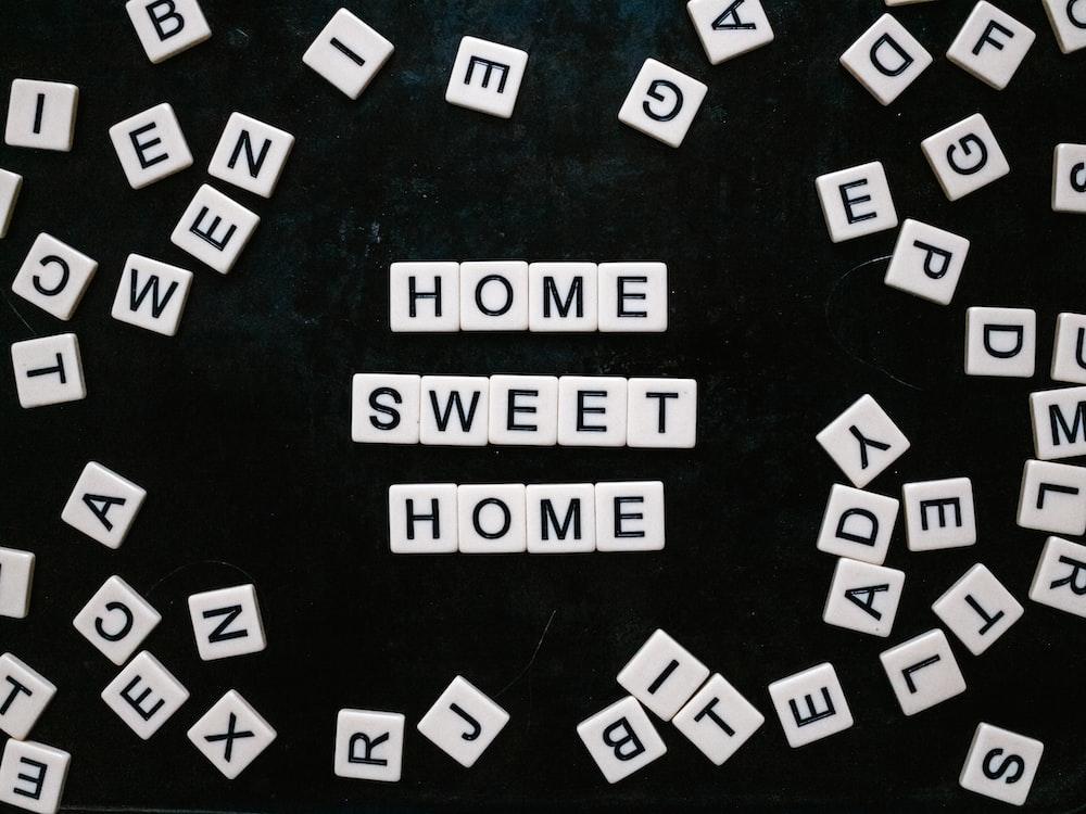 home sweet home tiles