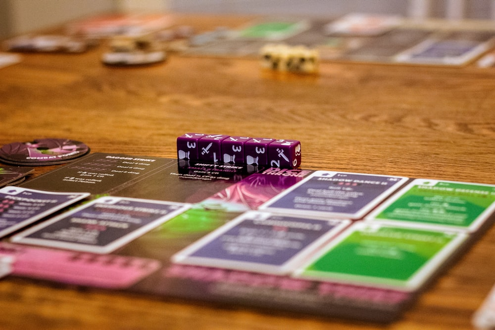 board game close-up photography