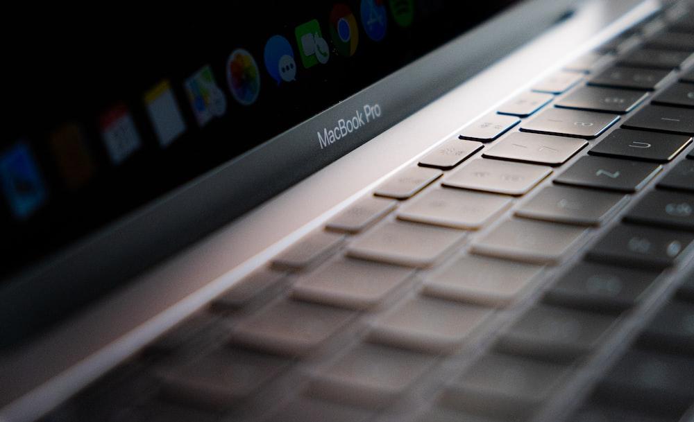 MacBook Pro close-up photography