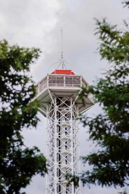 white metal tower during daytime