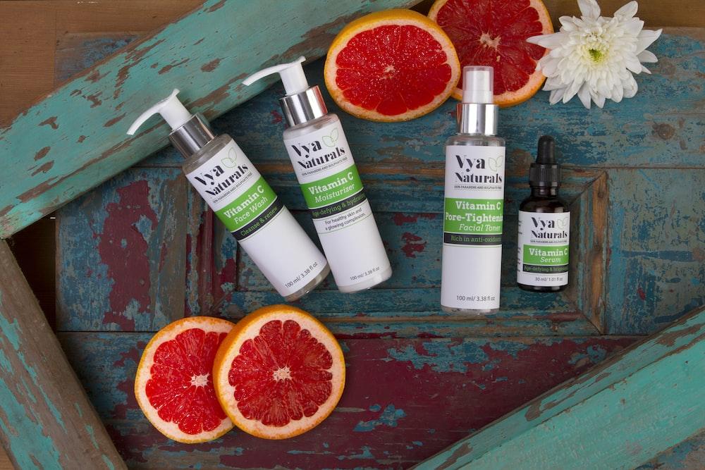 Vya naturals bottles set