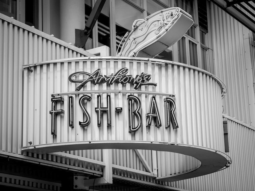 fish - bar signage