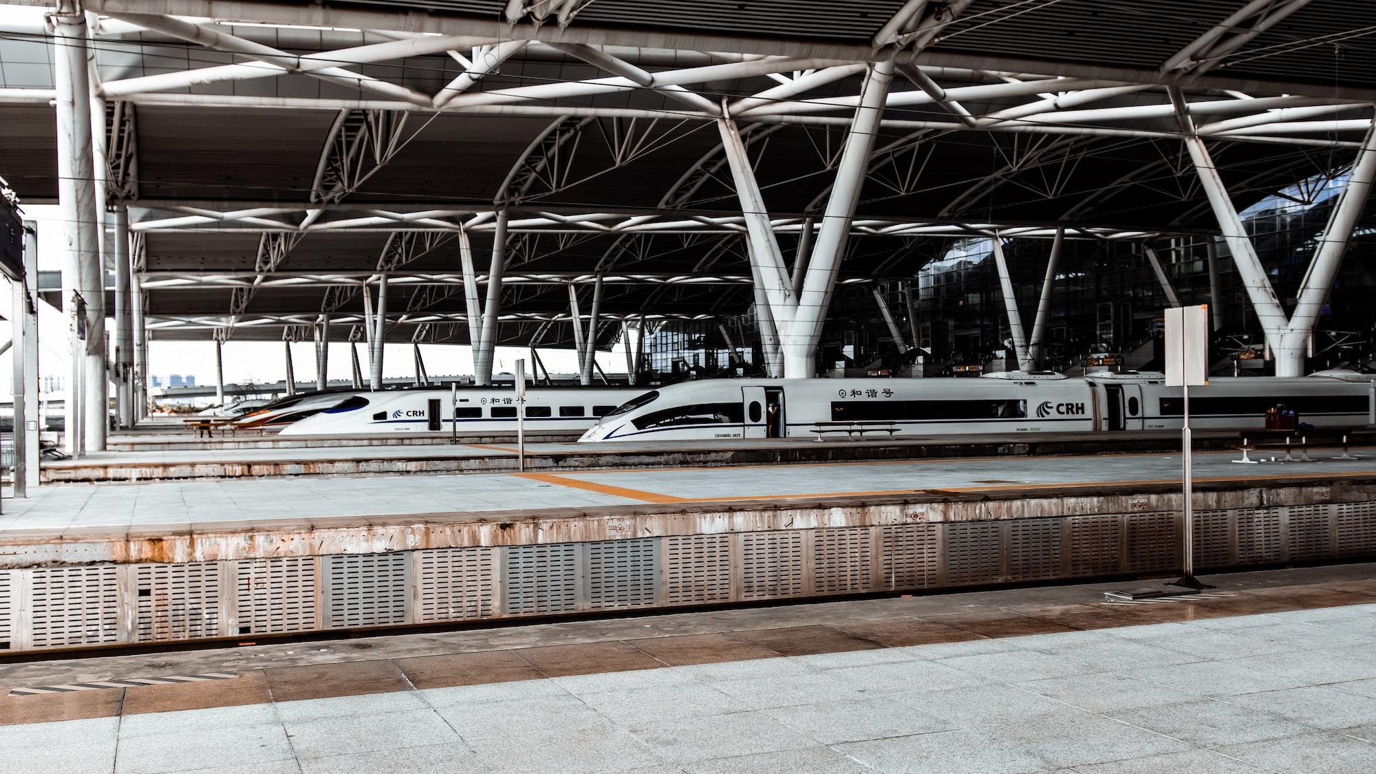 Train, Guangzhou, China