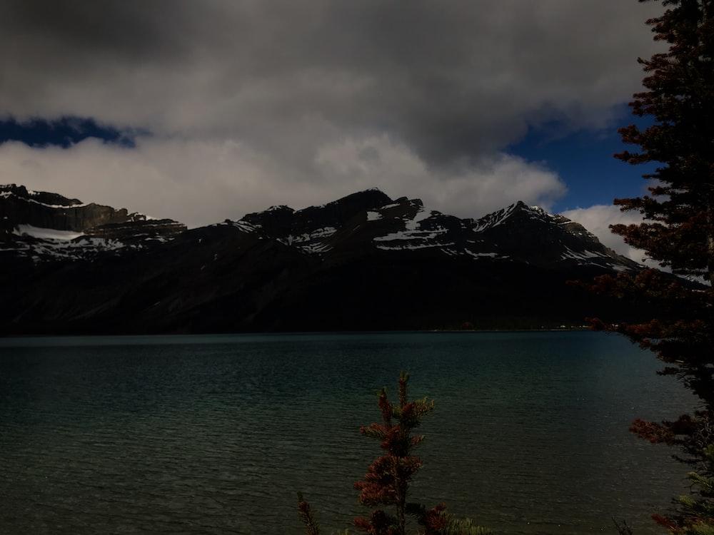 landscape view of a lake