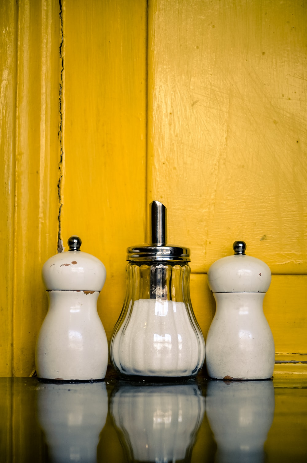 spice and salt and pepper bottle