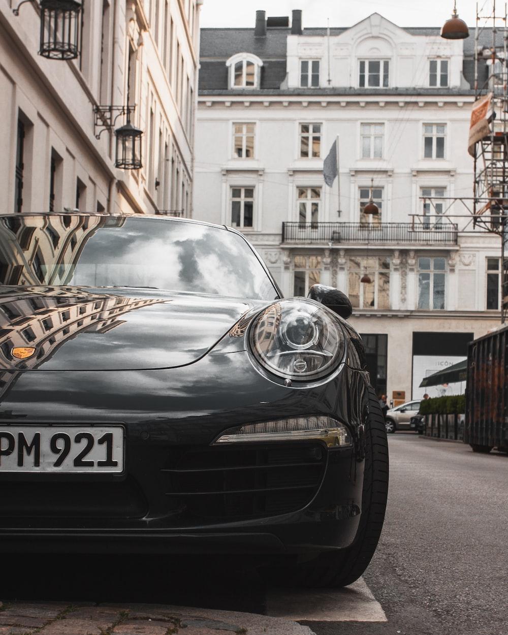 black coupe