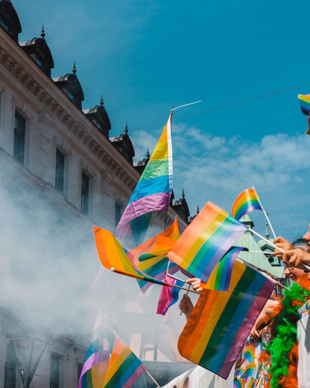 LGBT banner/LGBTQ+ community