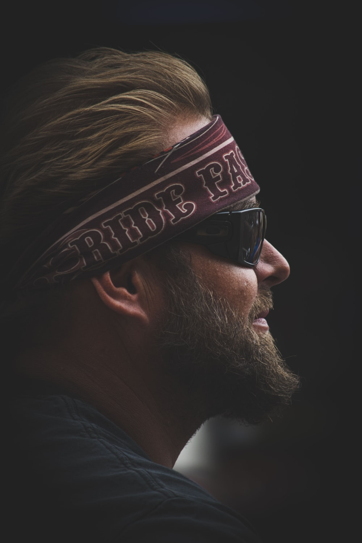 man in black sunglasses