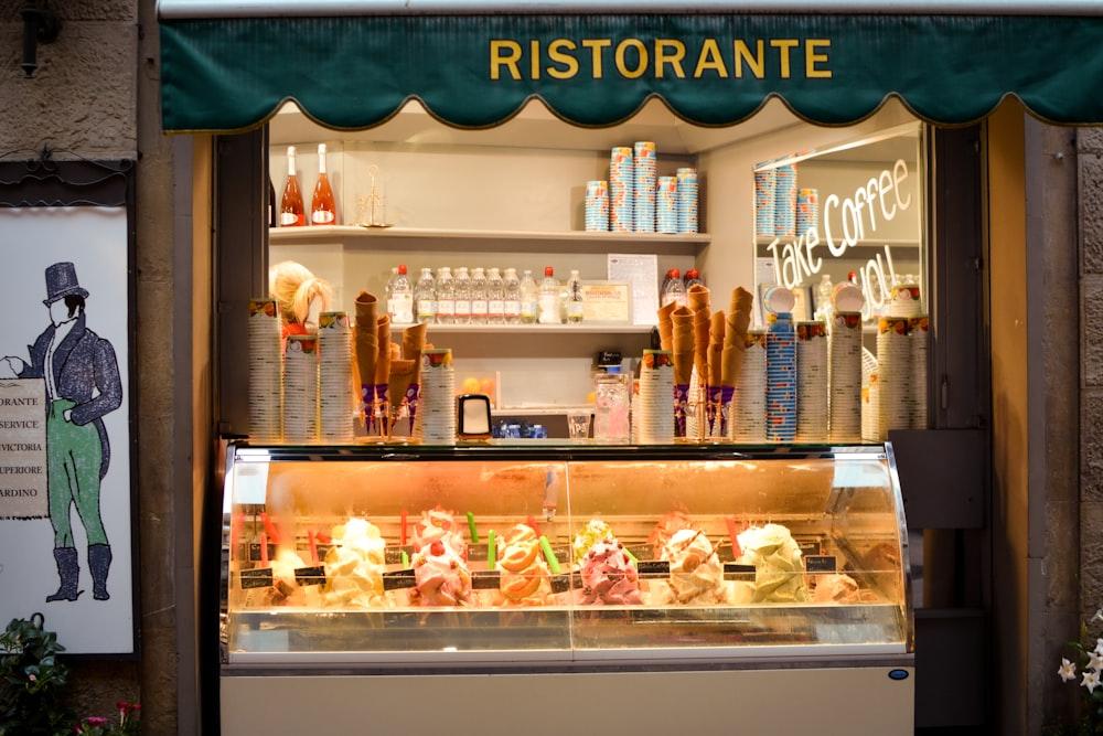 Gelato (Ice Cream) - traditonal dish in Florence