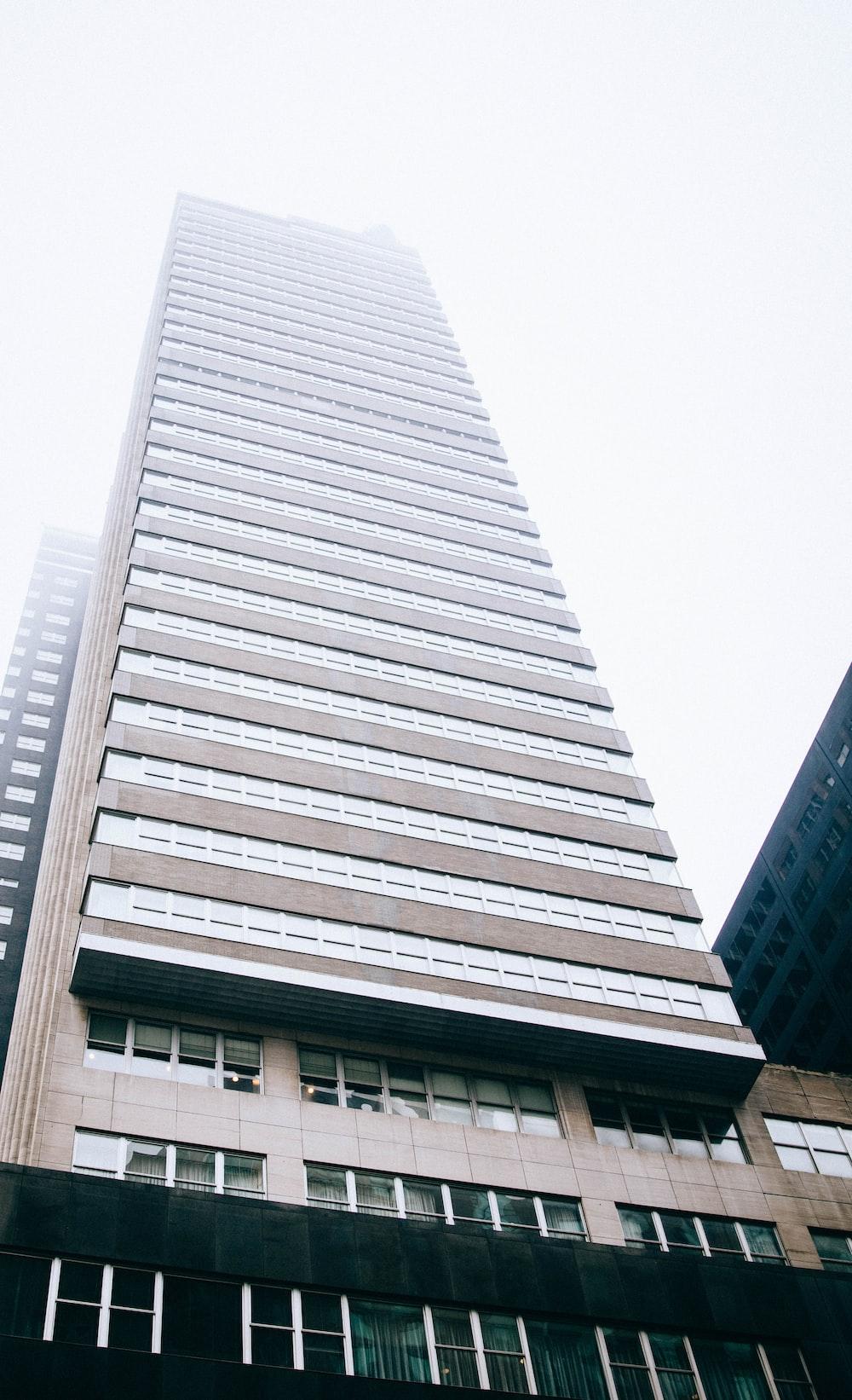 gray concrete buildings