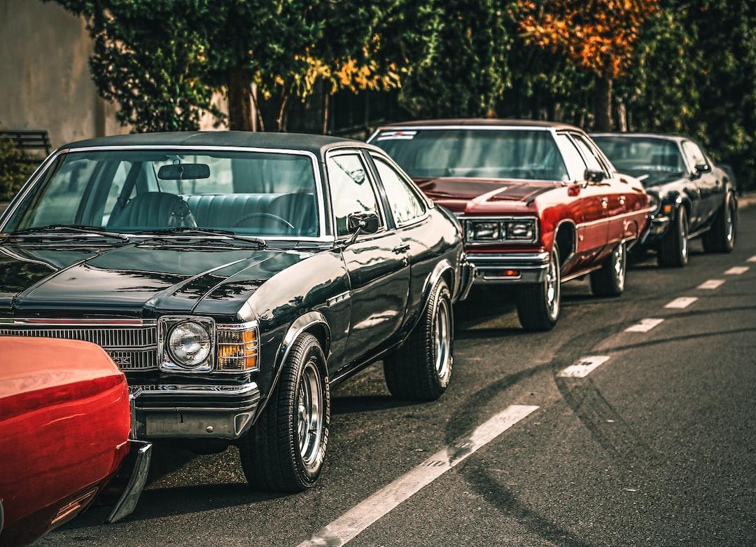 American muscle cars gang in Tehran!