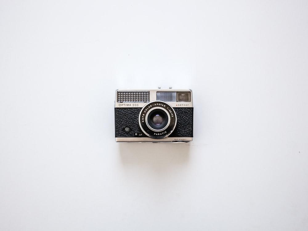 black and silver bridge camera