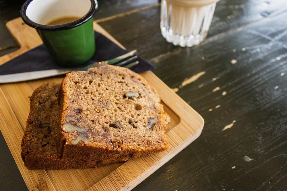 baked bread on tray