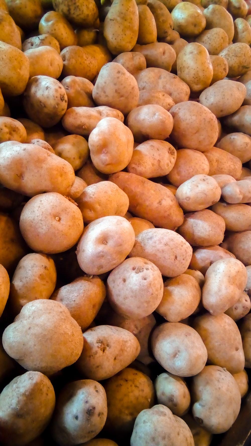 brown potatoes