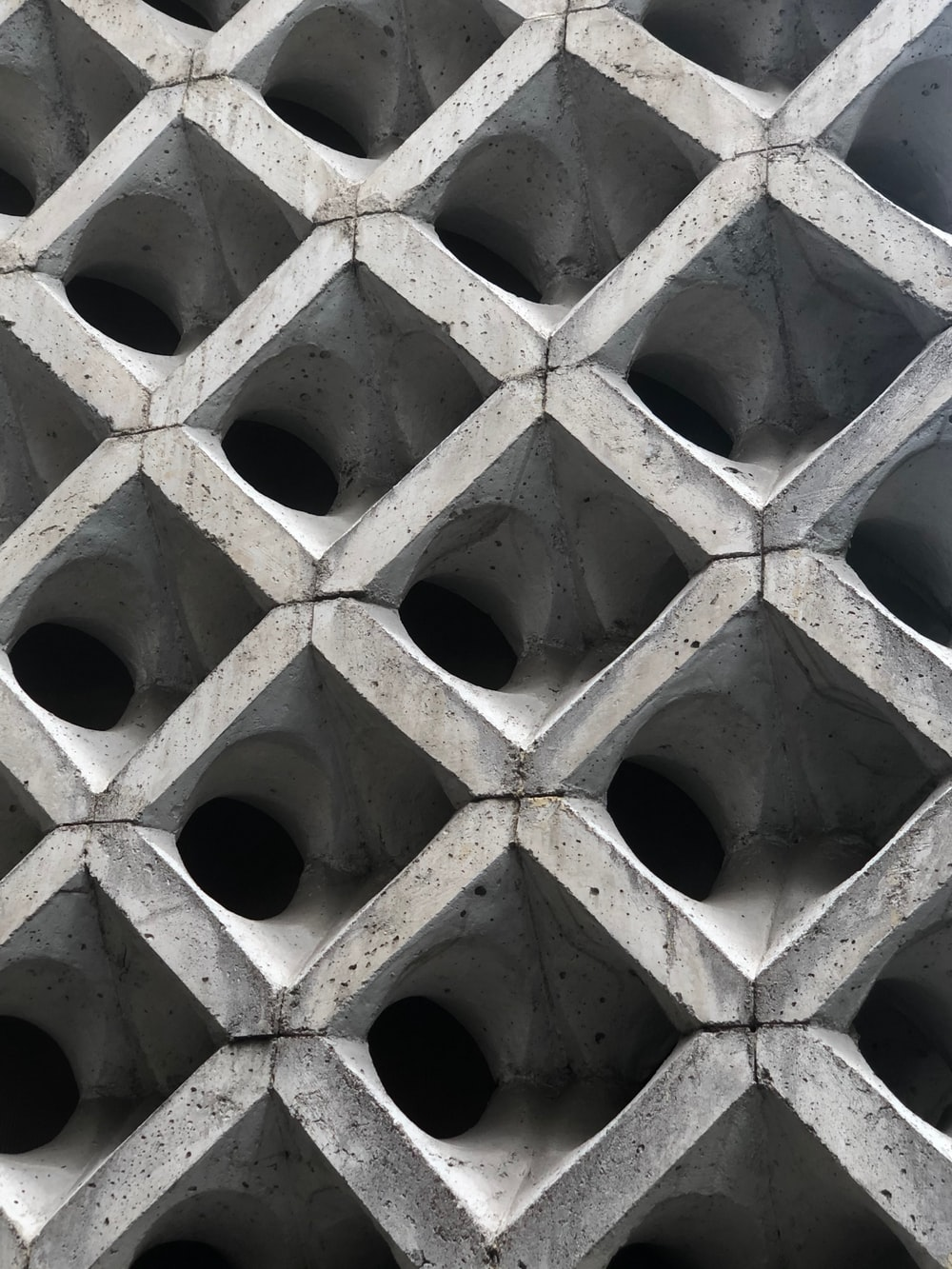 gray cement structure