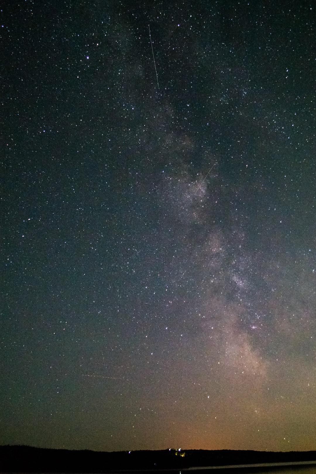 Shot of The Milky Way from Cape Breton, Nova Scotia, Canada