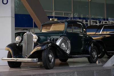 classic green vehicle