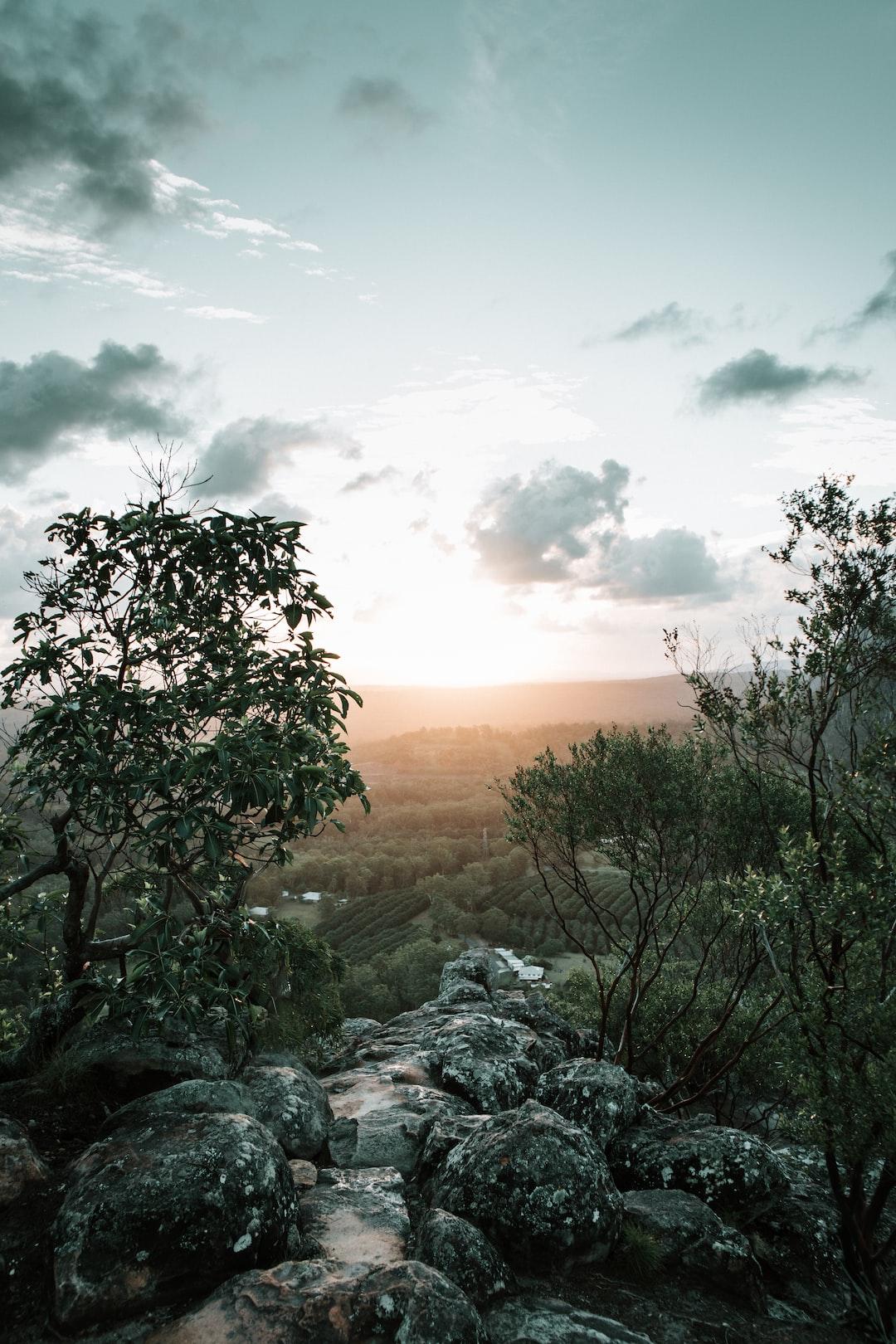The perfect end to a hike. Mt Ngungun, Queensland, Australia. @lochieriordan