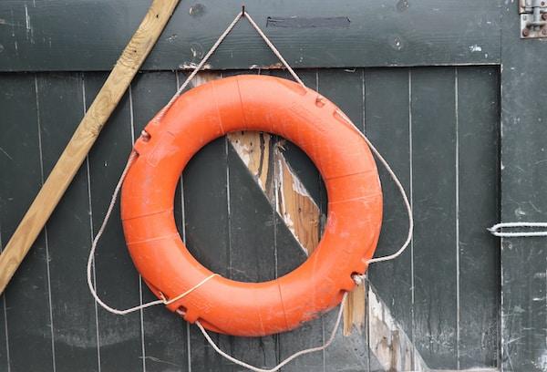 orange ring float