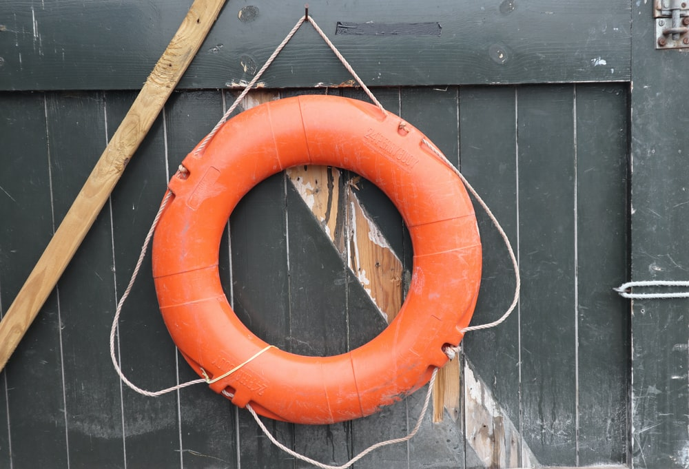 orange ring float