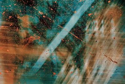 pointillism zoom background