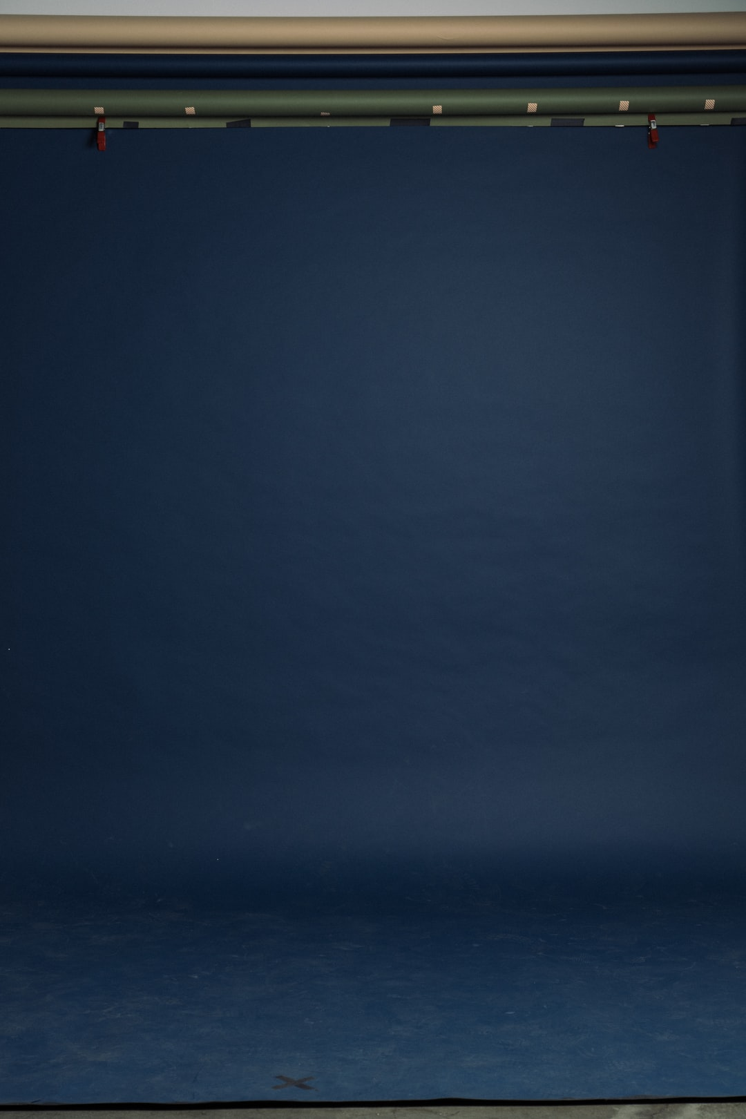 Blue seamless backdrop background plate Shot by Chase Wilson http://agroism.com