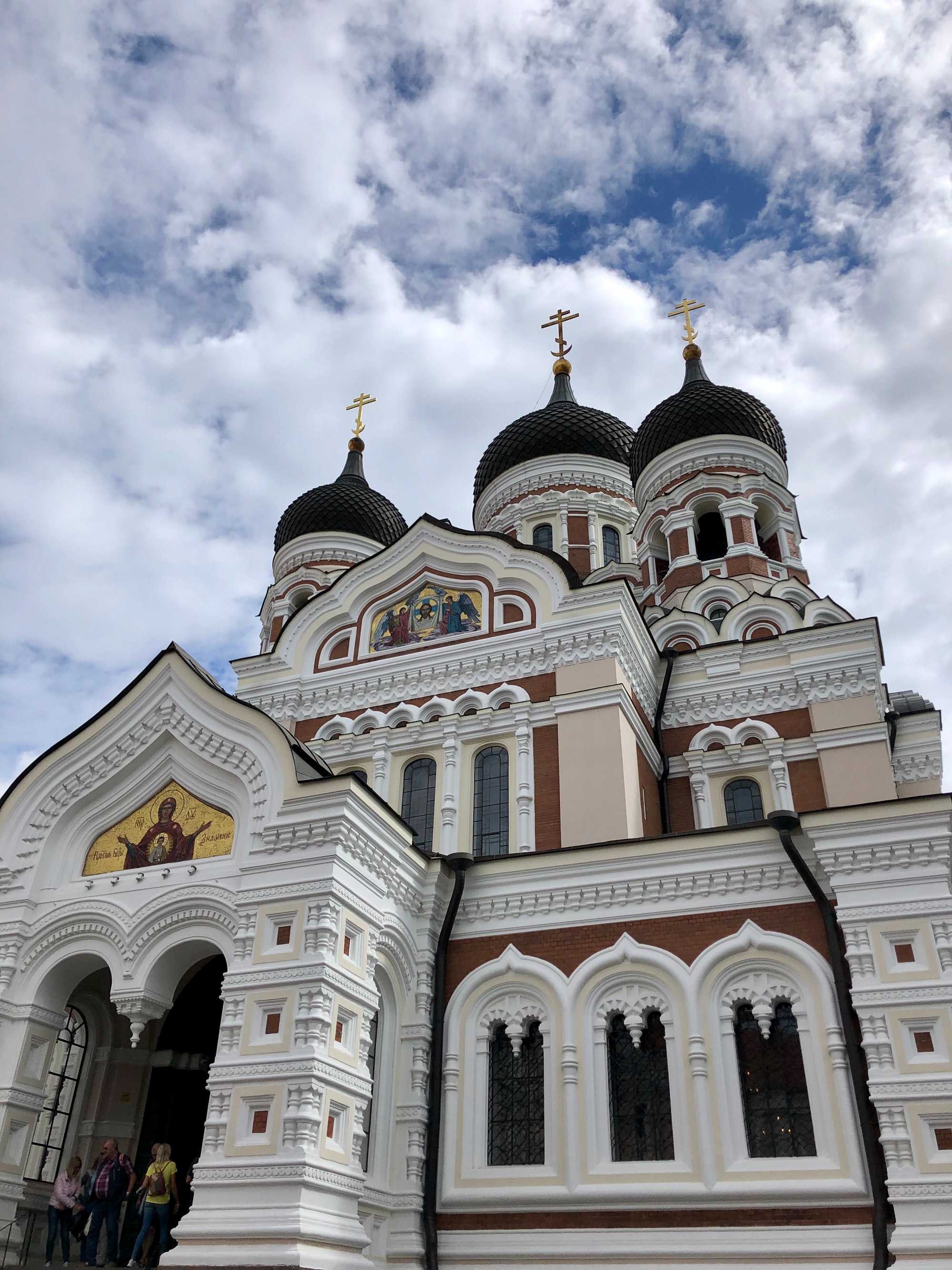 Alexander Nevsky Cathedral in Old Town Tallinn
