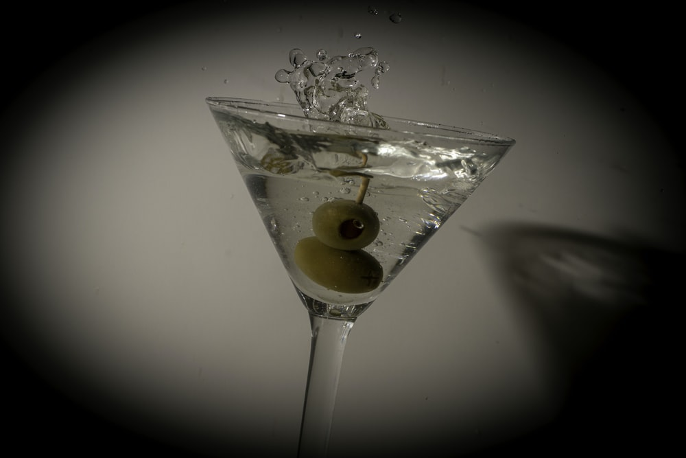 olives dipped in liquor