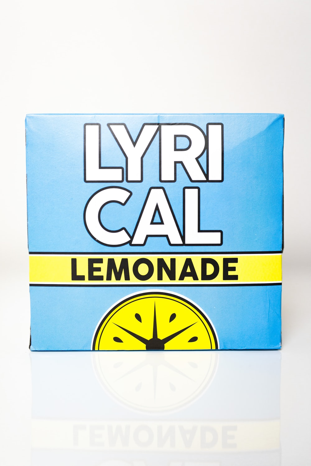 blue and yellow Lyrical lemonade box