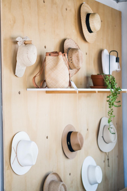 several hats