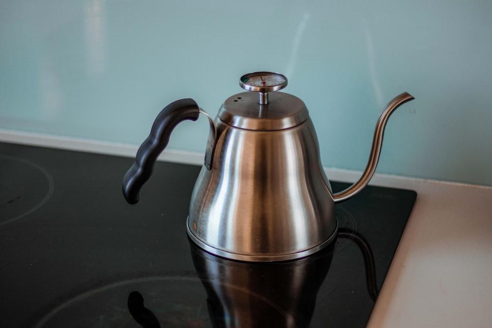 grey whistling kettle