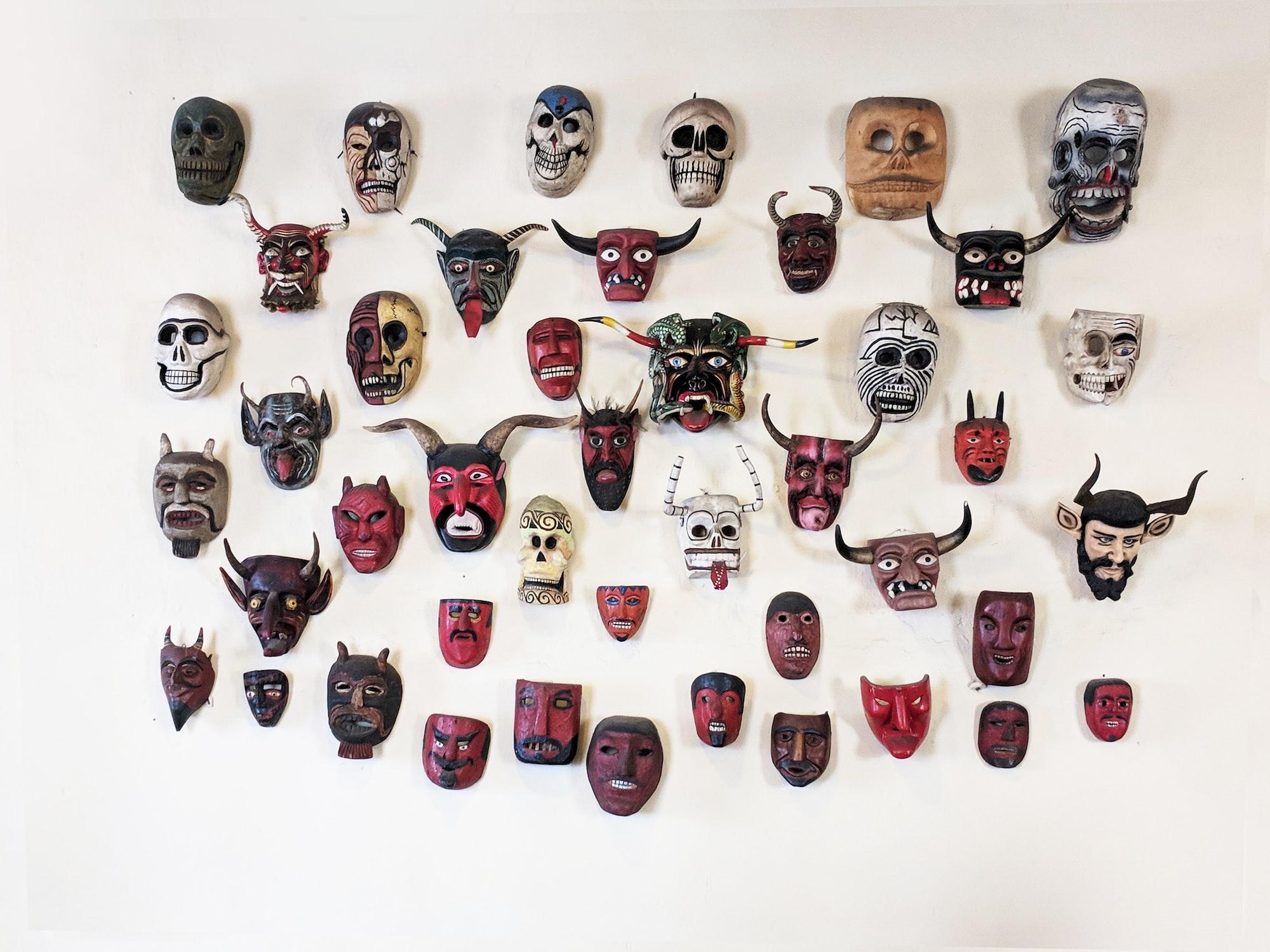 Unusual Masks playbook ideas