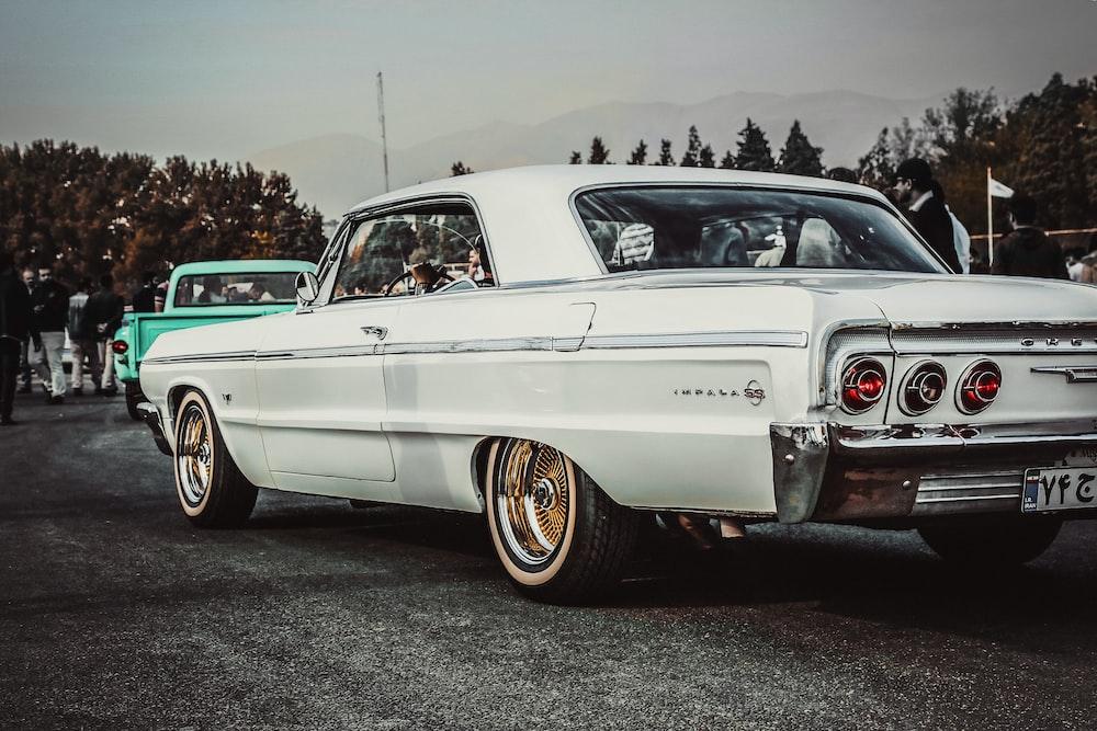 white coupe