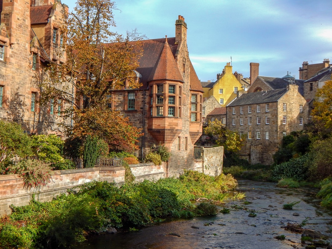 My first day visiting Edinburgh, I decided to wander around the looking for interesting places to shot. Luckily, I came across Dean Village and fell in love with the architecture with the autumn colors.